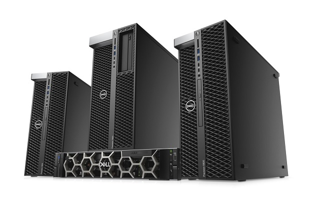 320 Dell Precision towers and rack