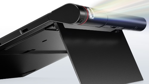 Lenovo X1 tablet converts into projector, 3D camera