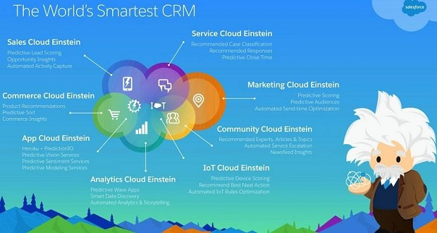 salesforce Einstein inforgraphic big