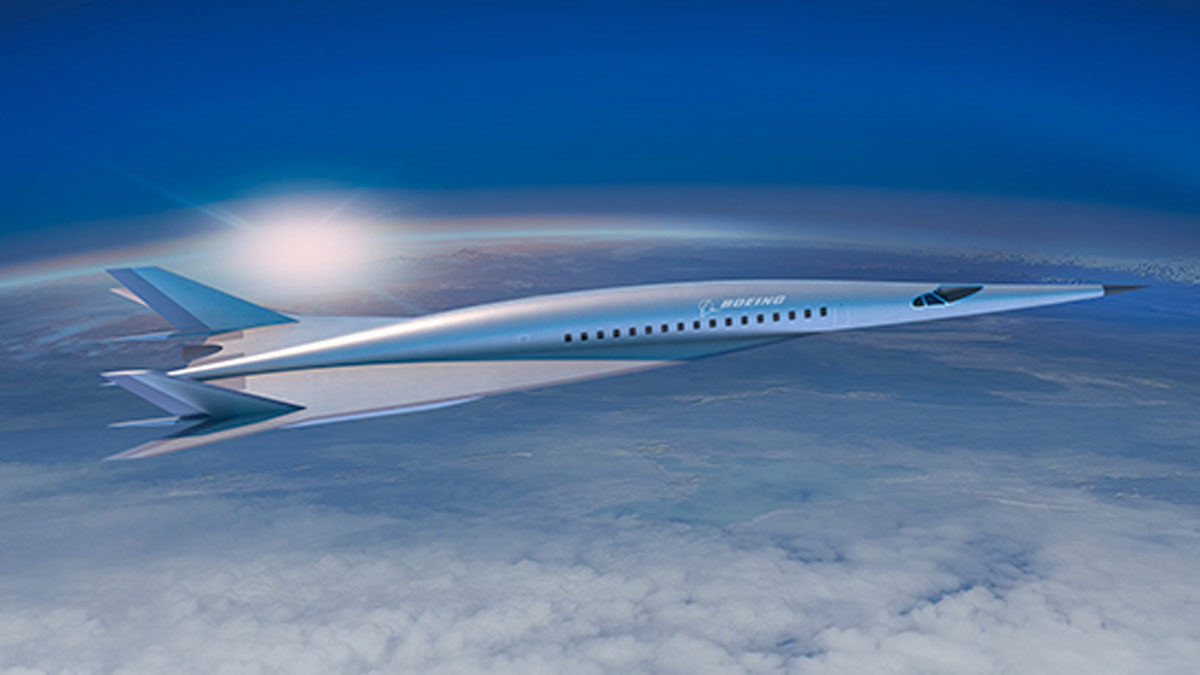 Hypersonic jet to fly from New York to London in two hours