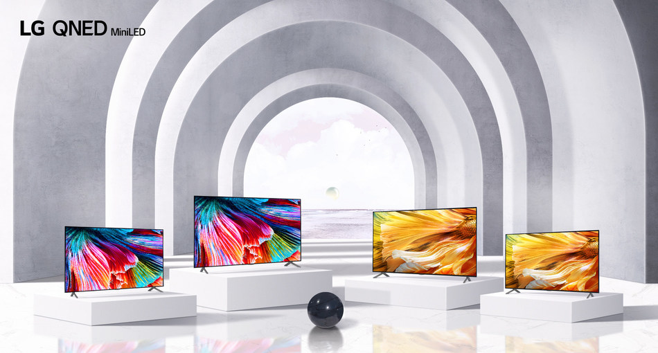 LG reveals award winning 2021 home entertainment lineup in Canada