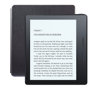 The Kindle Oasis – the thinnest and lightest addition to the Kindle family