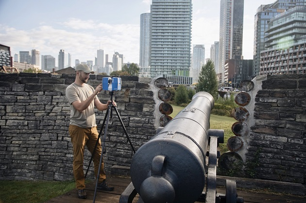 How lasers are preserving Fort York and other world treasures