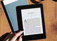 The new thinner and lighter Kindle