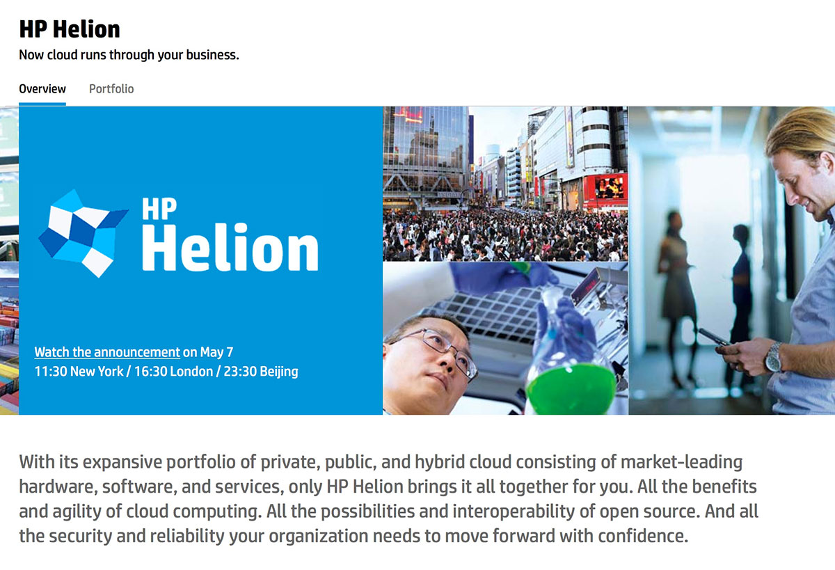 HP announces Helion IT stack