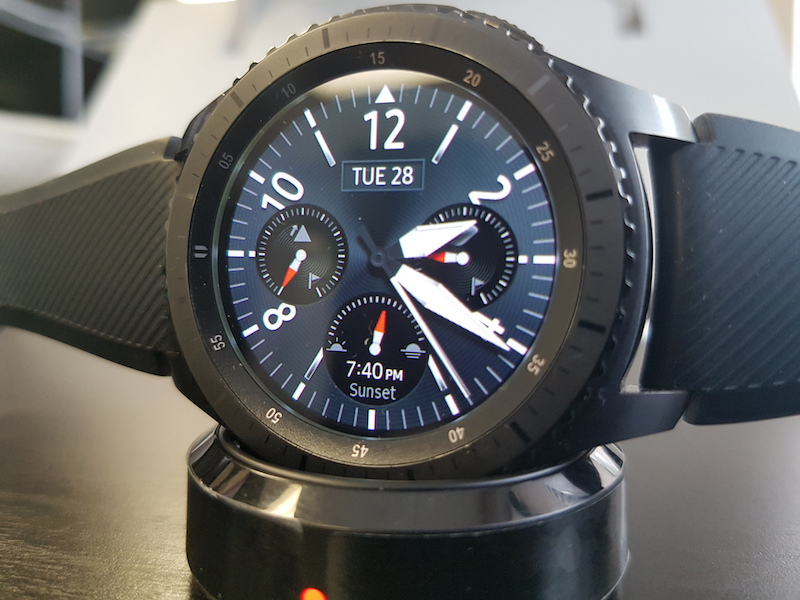 Samsung Gear S3 – one of the better smartwatches