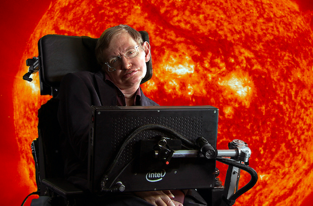 Hawking: technology 'may destroy us'