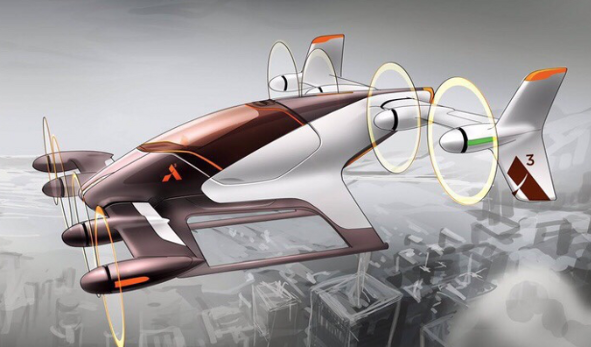 Flying cars, passenger drones and pay with sunglasses